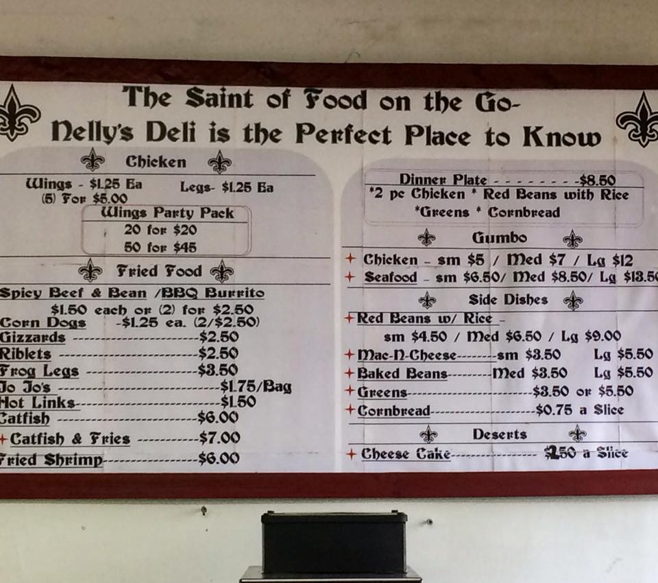 Photo of Nelly's Deli menu