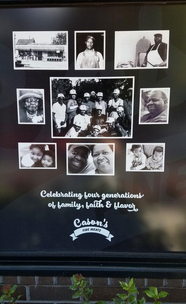 Cason's: 4 generations