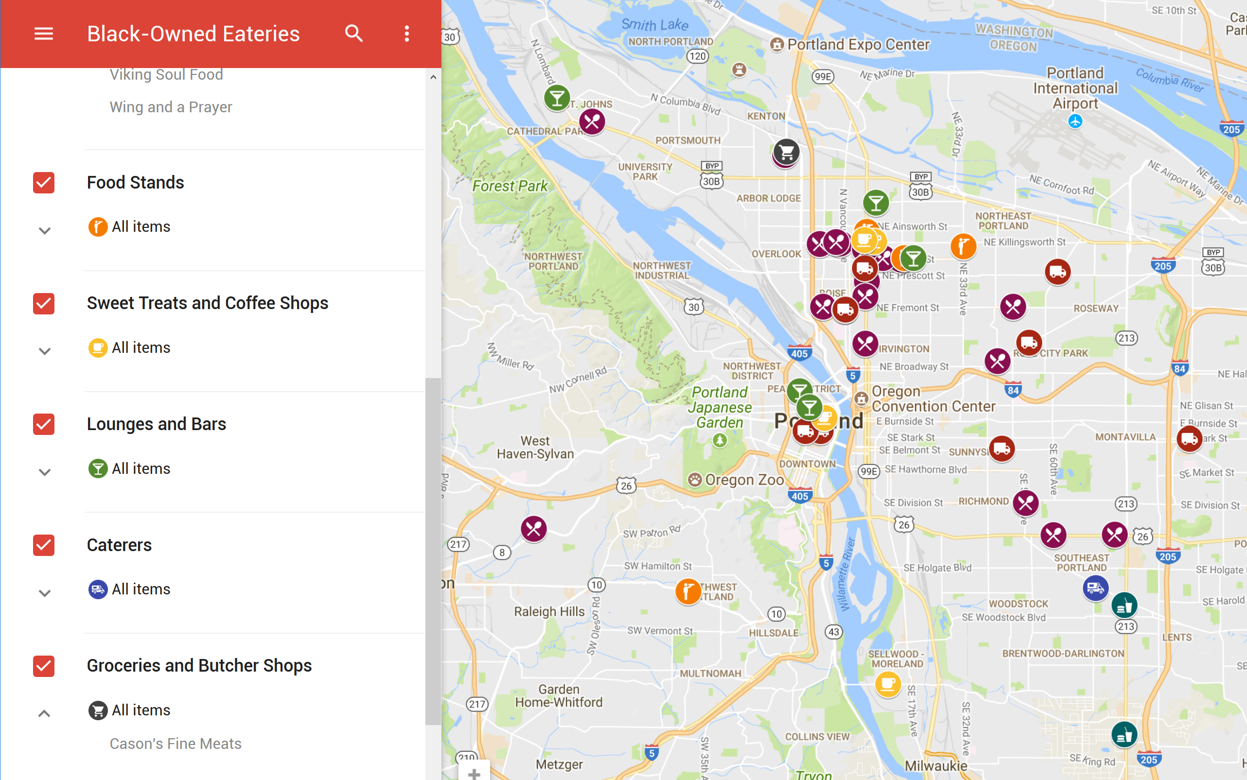 Directory of Portland Black-Owned Eateries | Support Black ...
